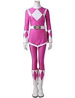 Costumes de Cosplay Costume de Soirée Superhéros Cosplay Cosplay de Film GéométriqueHaut Pantalon Gants Ceinture Bottes Plus