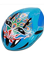 Sports Unisex Bike Helmet 12 Vents Cycling Cycling PC EPS Blue
