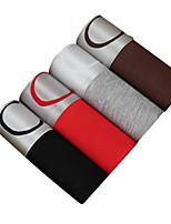 4Pcs/Lot Men's Fashion Sexy Boxers Underwear Cotton Modal Panties