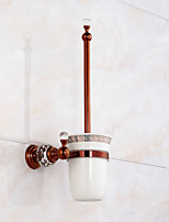 Toilet Brushes & Holders Modern Brass