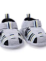 Kids' Sandals Summer First Walkers Fabric Outdoor Casual Flat Heel Hook & Loop