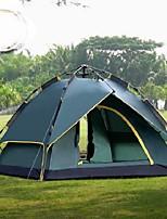 2 человека Двойная Однокомнатная ПалаткаПешеходный туризм Походы Путешествия-зеленый