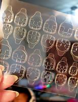 2pcs Transparent Double Sided Adhesive Tapes Stickers Fingernail Art False Nail Tips Extension Tools