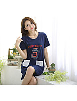 Women's Ultra Sexy Nightwear Solid-Thin Cotton Women's