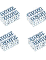 DIY 10*10mm Cylindrical Neodymium NdFeB Magnets(100PCS) Silver