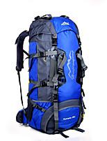 80 L Paquetes de Mochilas de Camping mochila Acampada y Senderismo Escalar Multifuncional Otros