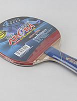 4 étoiles Tennis de table Raquettes Ping Pang Bois Long Manche Boutons Intérieur Utilisation-Autre