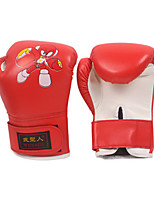 Boxing Gloves for Boxing Full-finger Gloves Protective PU Black Red Blue