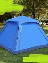 3-4 человека Один экземляр Однокомнатная ПалаткаПешеходный туризм Походы Путешествия-синий