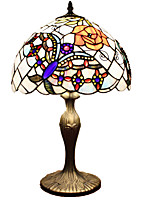 40 Tiffany Desk Lamp , Feature for Eye Protection , with Painting Use On/Off Switch Switch