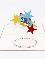 Convites do partido 1 Peça/Conjunto Cartões de Aniversário Dobrados Não personalizado