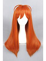 Gekkan moyen droite shoujo Nozaki-kun-Sakura chiyo 26 pouces synthétique d'orange perruque cosplay anime cs-213a