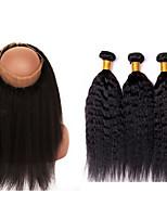 One Pack Solution Cheveux Brésiliens 12 mois 4 Pièces tissages de cheveux