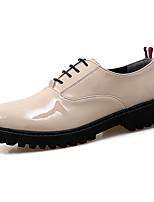 גברים של oxfords באביב קיץ גלדיאטור מטפסים רשמי הנעליים pu החתונה בחוץ במשרד&מסיבת קריירה&ערב מקרית תחרה- up