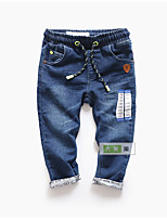 Boys' Casual/Daily Holiday Solid Pants-Cotton Polyester Spring Fall