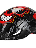 Sports Unisex Bike Helmet 12 Vents Cycling Cycling PC EPS White Red