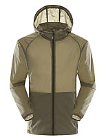 LEIBINDI® Men's Jacket Tops Camping / Hiking Climbing Backcountry Breathable Quick Dry Windproof Ultraviolet Resistant Dust ProofSpring