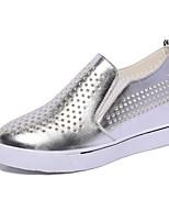 Women's Sneakers Spring Summer Fall Comfort PU Athletic Casual Flat Heel