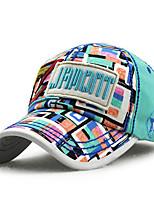 Unisex Na běžné nošení Léto Celý rok Kšiltovka Sluneční klobouk,Patchwork Bavlna
