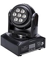 u'king® 50w double face 7 LEDS RGB 3 en 1 étape de déplacer la tête d'éclairage 11ch mode sonore auto DMX 1pcs