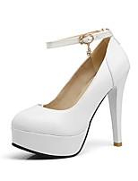 Women's Heels Spring Summer Fall Winter Club Shoes PU Office & Career Party & Evening Dress Stiletto Heel Buckle