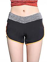 Pantalon de yoga Short Respirable Elastique Doux Confortable Taille moyenne Extensible Vêtements de sport Femme Yoga