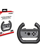 Joy-Con Wheel GameWill for Nintendo Switch Controller-Black (Set of 2)