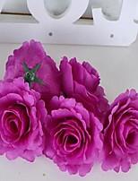 1 Une succursale Fibre Pivoines Fleur de Table Fleurs artificielles 10*10*6