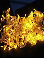 10m 100 luzes impermeável suave cinto de luz