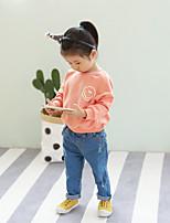 Pantalons Fille Décontracté / Quotidien Couleur Pleine Eté
