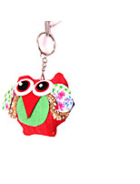 Key Chain Bird Key Chain Red Blue Pink Yellow Purple