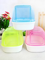 New hot sales pet hamster toilet sand Sauna bathroom toilet small pet shipping