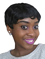 Synthetic Women Afro Short Wigs Fashion Black Color Synthetic Wigs