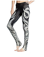 Women's Running Leggings Bottoms Breathable Summer Yoga Cotton Slim Outdoor clothing Athleisure Black Classic