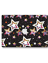 For MacBook Air 11 13/Pro13 15/Pro with Retina13 15/MacBook12 The Stars in The Color Decorative Skin Sticker Glow in The Dark