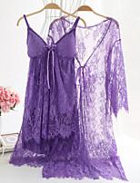 Jarretelles & Bretelles Vêtement de nuit Femme,Sportif Couleur Pleine-Mince Coton Aux femmes