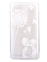 For HUAWEI 6X P8Lite(2017) Case Cover Dandelion Pattern HD TPU Phone Shell Material Phone Case
