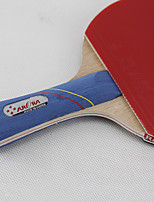 4 Stars Table Tennis Rackets Ping Pang Rubber Long Handle Short Handle Pimples Indoor Performance Leisure Sports