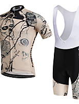 AOZHIDIAN Summer Cycling Jersey Short Sleeves BIB Shorts Ropa Ciclismo Cycling Clothing Suits #AZD152