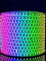 1m 60 Lichter wasserdicht weichen leichten Gürtel Aluminium Draht (zufällige Farbe)
