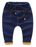 Girls' Casual/Daily Solid Pants-Cotton Winter
