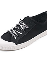Men's Shoes Canvas Outdoor / Athletic / Casual Sneaker Flat Heel Chuck Taylor All Star Core Black