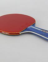 3 étoiles Tennis de table Raquettes Ping Pang Caoutchouc Manche Court Boutons Extérieur Utilisation Exercice Sport de détente