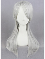 Short Silver Gray The Witcher 3 Wild Hunt Girl Synthetic 18inch Anime Cosplay Wig CS-270A