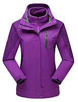 Damen 3-in-1 Jacken Damenjacken Winterjacken Skifahren Camping & Wandern Jagd Schnee Sport SnowboardingWasserdicht Atmungsaktiv warm