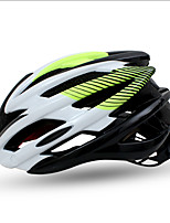 Sports Unisex Bike Helmet 26 Vents Cycling Cycling M:55-58CM L:58-61CM PC Yellow Green Red Blue Dark Pink