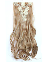 Com Presilha Sintético Extensões de cabelo 150 Alongamento