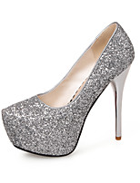 Women's Heels Summer Fall Club Shoes Synthetic Wedding Party & Evening Dress Stiletto Heel Sequin