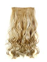 Com Presilha Sintético Extensões de cabelo 110 Alongamento