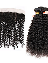 One Pack Solution Peruvian Texture Kinky Curly 12 Months 4 Pieces hair weaves